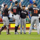June 8, 2013 was just the second day in major league history in which two games went 18 innings and the first in which one of those games went longer (the Mets and Marlins played 20). That highlighted a first half in which extra-inning games were occurring at a record pace. June was the first month since May 1973 in which there were three games of at least 18 innings, and there have been four games of that length this season among 150 total extra-inning games. That projects to 258 extra-inning games over the entire season. The record is 237, set in 2011.