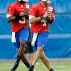 Granted, the quarterback everyone really wants to see in Buffalo is rookie E.J. Manuel. For now, however, Kolb is penciled in as the Bills' starter, so this is his job to lose in August. Remember, Kolb paced the Cardinals to a 4-0 record out of the chute last season, including wins over Seattle and at New England, before the wheels fell off.