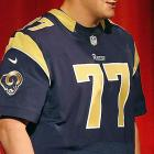 Which Jake Long did the Rams sign to a four-year, $34 million contract: the dominating former No. 1 overall pick, who made four consecutive Pro Bowls from 2008-11? Or the oft-injured, sluggish tackle who looked to be getting worse weekly? We'll know more by the end of camp ... and St. Louis will be praying it has a new anchor for its line.