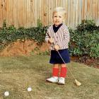 Mickelson embraces the game of golf at a very early age.