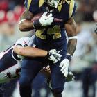 St. Louis Rams running back Isaiah Pead has to miss the season opener after violating the league's substance abuse policy.
