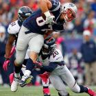 The New England Patriots have watched their stable of star tight ends decrease from two to possibly zero as the odyssey of Rob Gronkowski's recovery multiple injuries continues. Gronkowski has had multiple surgeries on his broken left forearm in addition to back surgery this offseason, likely leaving him not ready to play by the start of the season.