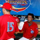 The Threshers are a minor league (Class A - Advanced) baseball team that plays in the Florida State League. The team is the High-A affiliate of the Philadelphia Phillies.