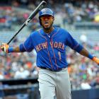 A 26-year-old Dominican utilityman who has spent parts of the past two seasons with the Mets, Valdespin is no stranger to controversy. He has been suspended for insubordination multiple times in both the minors and in winter ball. Back in May, after showboating following a home run off the Pirates' Jose Contreras in a blowout loss, he was promptly drilled by Pittsburgh's Bryan Morris in a pinch-hitting appearance the next day. On July 14, he was sent to Triple-A Las Vegas, having hit just .188/.250/.316 in 144 plate appearances; upon receiving the news, he caused a commotion in the Mets' clubhouse. Earlier this week, he was suspended three games for his part in a bench-clearing brawl triggered by another excessive home run celebration and retaliatory plunking. The bet here is that he's played his last game in the Mets organization.