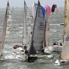 Cowes Week is a regatta run since 1826. Hundreds of boats are participating in this year's events, including those seen in this shot of day two on Aug. 4.
