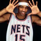 When the Toronto Raptors hired Rob Babcock as general manager, it signaled the beginning of the end of Vince Carter's tenure in Canada. Carter did not gel with Babcock's priorities of establishing his philosophy even at the expense of winning right away and headed south of the border to the New Jersey Nets at 27 years old. The Raptors received Alonzo Mourning, Aaron Williams, Eric Williams, and first-round picks in the 2005 and 2006 NBA Draft in exchange. Carter's minutes shot up from 30.4 per game to 38.9 after the deal, and his production spiked as well. He averaged 27.5 points per game in 57 games in New Jersey, nearly 12 points better than his average in the early part of the season in Toronto. Carter made the All-Star team each of his first three years in New Jersey, all years in which the Nets also made the playoffs.