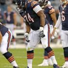 """The Bears """"stole"""" Bushrod away from the Saints by signing him to a five-year, $35.965 million contract in March to help their historically horrid offensive line, and in that context, Bushrod will be an interstellar upgrade over J'Marcus Webb. At least, that's the narrative ... but the stats may tell a different story. In truth, Bushrod is an average pass protector who has been made to look better than he is by Drew Brees' pocket movement, and in 2012, he wasn't that much better than Webb. He allowed three sacks to Webb's five, but suffered more blown blocks in the passing game (21.5 to 18.0) and in the run game (7.0 to 2.5)."""