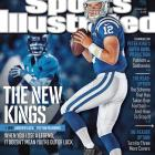 The future of the NFL meets the past on the covers of this week's Sports Illustrated. In 2012, Robert Griffin III, Andrew Luck, Colin Kaepernick and Russell Wilson took the league by storm. This week's issue of SI features a four-cover regional series comparing each of the young quarterbacks to a past Super Bowl champion, showing ways in which the past could be prologue. Last year, Luck set the record for the most passing yards by a rookie in a single season. MMQB.com staff writer Robert Klemko writes that Luck is on a path to become Peyton Manning, the player he took over for in Indianapolis.