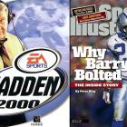If you look closely, you can see Sanders in the background of the Madden cover. The electric Lions running back would announce his retirement before the 1999 season and never return to the NFL.