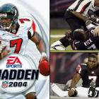 Immediately following the game's release, Vick broke his leg in a preseason game and didn't return until there were just five games left in the season. The injury spurred a serious debate about the necessity of the preseason, and the Madden jinx was suddenly being discussed everywhere.