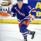 Defenseman Brian Leetch of the Rangers broke his ankle when he slipped while getting out of a taxi in New York City in 1993.