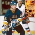 """Right winger Mark Reeds of the Blues suffered second and third degree burns on his right hand while making popcorn in January 1987. After heating some oil in a pan, he removed the lid and the oil burst into flames. As <italics>The New York Times</italics> reported: """"Reeds, who will be out on a game-to-game basis, said he had analyzed the incident and discovered what caused the accident: 'stupidity.'''"""