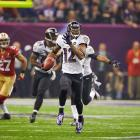 Here's a look at active NFL players who have scored in four or more different ways during their careers, starting with Jacoby Jones. The 2012 Pro Bowl returner has four punt-return and three kick-return touchdowns during his career with the Houston Texans and Baltimore Ravens. His three kick-return touchdowns rank eighth among active players. When Jones isn't returning, he's proven to be a capable offensive weapon, highlighted by his 12 receiving touchdowns and one two-point conversion since 2009.