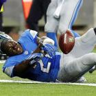 Reggie Bush came up a yard short on this play.