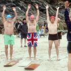 Huntington Beach ... Waikiki ... Haleiwa ... Bondi ... Cornwall? Indeed. Among the world's iconic surfing spots, Cornwall is the sport's epicenter in the UK, the place where it all began in Britain more than 100 years ago with participants like these fine chaps face-down on wood bellyboards.