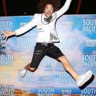 "One half of LMFAO makes its grand entrance at the opening night of Opera Australia's ""South Pacific"" at the Sydney Opera House. Here's some actual footage of the company and that night's performance."
