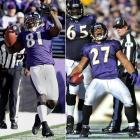 """Baltimore trailed Arizona 24-3 with four minutes left in the second quarter. But after halftime, the offense came together. """"We woke up, plain and simple,"""" said wide receiver Anquan Boldin, who caught seven passes for 145 yards. Ray Rice ran for three second-half touchdowns in the Ravens' 30-27 win."""