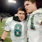 The Jaguars have only 12 double-digit comeback victories, and the biggest came in their second season. The Ravens led 25-10 in the fourth quarter, but Mark Brunnell threw two touchdowns and ran for a two-point conversion to send the game to overtime. Mike Hollis kicked a field goal to give Jacksonville a 28-25 win.