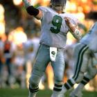 Jim McMahon hit Keith Jackson and Fred Barnett for back-to-back touchdowns to help Philadelphia close a 23-0 gap against the Browns. Roger Ruzek made four short field goals as Philadelphia won 32-30. The victory pulled the Eagles' record to .500 for the season.