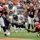 """The biggest comeback victory in Chargers' history was a noteworthy game for LaDainian Tomlinson. The running back was one of the top players in the NFL and would win that season's MVP award. Against the Bengals, he rushed for four touchdowns as San Diego recovered from a poor start. """"Being involved in that game, it was like it was a cartoon or something,"""" Tomlinson said afterwards. The 1981 Chargers also won a game after falling behind by 21."""