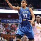 The preseason favorite for league MVP, Moore has improved her already-stellar numbers in just about every category, especially in three-pointers, of which she makes a league-leading 44.4%. The dead-eye outside shooting, combined with her explosive athletic ability, makes her one of the league's most dangerous offensive threats. Moore led the Lynx to a title as a rookie two-years ago and, with the league's top record this season, they are a favorite to win the championship again.