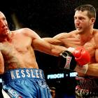 Froch won an entertaining slugfest against Mikkel Kessler in May, positioning himself as perhaps the most appealing 168-pounder out there. Froch brings a huge British fan base and a lorry-load of TV money, and there are no shortage of options (Ward, Kessler, Bernard Hopkins) for him to fight. First, though, a mandatory title defense against countryman George Groves in November. <italics>All records through Sept. 15</italics>
