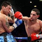Too young? Ask Erik Morales. Too one-dimensional? Check with Amir Khan. Can't box? Ask Zab Judah. No chin? Go see Lucas Matthysse. Garcia has made a habit of quieting his critics, most recently with a win over Matthysse on Sept. 14. The unified junior welterweight champion, Garcia says he is headed to 147 pounds, where a fight with Mayweather could eventually be in the offing. All records through Nov. 5