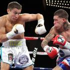 Yup, I'm officially on the Golovkin train. Golovkin wiped out veteran title challenger Matthew Macklin in June, a one-sided drubbing that ended with one of the most crushing body shots in recent memory. In the amateurs, in the pros and probably in street fights as a kid, Golovkin has dominated. He is powerful and skilled, and it's hard to see too many of the current 160-pounders hanging with him. He will face his biggest-punching opponent to date on Nov. 2, when he defends his middleweight belt against Curtis Stevens. <italics>All records through Sept. 15</italics>