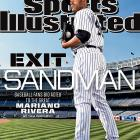 Mariano Rivera has been celebrated across baseball all season long and now as his spectacular career winds down, he has earned one more honor: landing on the cover of Sports Illustrated for the fourth time. In the cover story, Tom Verducci took a different approach when writing about the Yankees' closer, telling the story of Rivera's career in an oral history, talking with several of the pitcher's teammates, coaches and managers from his 24 seasons in professional baseball.