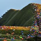 For all in tents and purposes, Mount Wugongshan in Pingxiang, Jiangxi province, China attracted more than 15,000 campers from all over the world.