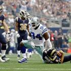 Ware matched Harvey Martin's 30-year-old franchise record with his 114th in the first half against St. Louis on Sept. 22, 2013, and got his second of the game to surpass Martin in the third quarter. Sacks became an official NFL statistic in 1982, but the Cowboys have tracked sacks since the start of their franchise in 1960. Martin had 114 sacks in 158 games from 1973-83, according to the team. Ware was a Pro Bowl pick the last seven seasons as a linebacker.