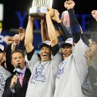 "Nov. 4, 2009: Rivera clinches a fifth championship With big-money free agents CC Sabathia, A.J. Burnett and Mark Texieira joining the ""Core Four"" of Derek Jeter, Pettitte, Jorge Posada and Rivera, the Yankees marched back to the World Series for the first time since 2003. Facing the defending world champion Phillies, they carried a 3-games-to-2 lead back to the Bronx for Game 6. Once there, Hideki Matsui piled up six RBIs and helped to chase Pedro Martinez early as New York built a 7-3 lead. Girardi began counting down the outs once he pulled a flagging Pettitte ? pitching on three days' rest ? with two outs in the sixth. Joba Chamberlain got three of them. Damaso Marte got two more. Rivera came on with one out in the eighth. Though he allowed a two-out double to Raul Ibanez and issued a one-out walk to Carlos Ruiz in the ninth, he remained in control of the game, and retired Shane Victorino for the final out, giving the Yankees their 27th world championship. Of the eight teams that entered the postseason that fall, seven closers faltered at least once when the chips were down, making mistakes that proved fatal to their team's title hopes. Rivera, who allowed just one run in 16 postseason innings while converting all five of his save opportunities, was both literally and figuratively the last man standing in closing out a World Series for the fourth time."