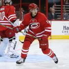 No pressure or anything, but after spending two seasons in Sweden's elite league, Carolina GM Jim Rutherford says Lindholm is expected to make an immediate contribution to the 'Canes. The team loves his versatility ? he's played all three forward positions ? and his hockey sense, but his speed will make him valuable to a team that could use a little giddy up.