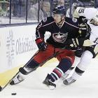 Murray was penciled into the Jackets' lineup last season until a shoulder injury suffered during the lockout scuttled those plans. He comes into camp this year ready to prove that he's healthy and capable of playing significant minutes as a Karl Alzner-type shutdown blueliner who can quell an attack with physical play or smart positioning.