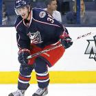 It always seemed like an indefatigable work ethic would be the element that earned Jenner his shot in the NHL, but it was the surprisingly deft touch he displayed in camp that finds him starting the season on the Jackets' top line alongside Brandon Dubinsky and Marian Gaborik. His style is sure to make him a fan favorite in Columbus and public enemy No. 1 everywhere else.