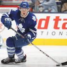 The Leafs seemed committed to ensuring a slow developmental curve for Rielly after ruining several top defensive prospects by rushing them into service, but the fifth overall pick from 2012 wouldn't be denied a spot. His ice time may be limited to a depth role, but his ability to read the play and make smart decisions with the puck could allow him to chip in on the power play.