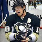 """James Neal, who has played only one period of hockey this season, allegedly hurt himself participating in an on-ice wiffle ball game, according to a report from 970 ESPN Pittsburgh. The 26-year-old Pittsburgh Penguins star left the team's season opener last Thursday with what coach Dan Bylsma called an upper body injury. Neal, who ESPN said has an injury """"similar to a strained oblique,"""" was playing wiffle ball as part of a Penguins video tribute to the Pirates. The <italics>Pittsburgh Tribune-Review</italics>, meanwhile, reported Penguins GM Ray Shero said the wiffle ball story is """"Not accurate, 100% not true."""" True or not, here are 20 other bizarre injuries that have been suffered by NHL players through the years..."""