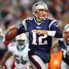 New England entered the game 14-0; Miami was 1-13. Not only did Bill Belichick's squad score at will (averaging 37.4 points per game), but also it ruthlessly tacked on points in the fourth quarter, outscoring opponents 137-72 over the final 15 minutes. That stat certainly contributed to the line. Tom Brady threw three first-half touchdowns -- two to Randy Moss -- and New England was up 28-0 at the break. But the Patriots cooled off in the second half. Brady threw two picks in the third quarter and was sacked twice in the fourth. Although the Patriots won 28-7, they didn't cover the spread. (New England went on to be double-digit favorites in its regular season finale and throughout the playoffs, including its Super Bowl loss to the Giants.)