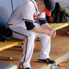 The Braves' prolonged September collapse in 2011 was capped by a single, agonizing game that served as the opposite of an exclamation mark -- one game that ensured Atlanta wouldn't make the playoffs in a manner just as painful as the entire final month of the season. With 23 games to go in the 2011 season, Atlanta held an eight-and-a-half game lead in the N.L. Wild Card race. The Braves won just seven of those final 23 games, and lost the 16th on the final day of the season. That loss was in a do-or-die, 13 inning affair that saw Craig Kimbrel, who had just set the major-league rookie record for saves that year, blow a one-run lead in the ninth inning.