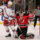 """Well, everyone talks about how classy or unclassy I am, and fatso there just forgot to shake my hand I guess. . . We outplayed him. I outplayed him. We're going to the second round."" -- <italics>Rangers agitator about Devils goalie Martin Brodeur, with whom he had been feuding, after New York eliminated New Jersey in after Game 5 of the 2008 Eastern Conference quarterfinals.</italics>"