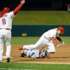 Allen Craig scored the game-winning run of Game 3 after umpires called obstruction on Red Sox third baseman Will Middlebrooks.