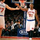"""Let's put it this way: When you think about J.R. Smith and Metta World Peace, is """"contenders"""" the first thing that comes to mind? Andrea Bargnani, who struggled in Toronto, now faces the task of resurrecting his career in the bright lights of New York. If the Knicks somehow do make the Finals, we predict that Carmelo Anthony will become the first Finals MVP to lose since Jerry West."""