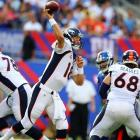 The offense that looked so flawless in September and the beginning of October has shown a few cracks as of late. If teams press the Denver receivers at the line of scrimmage, does Peyton Manning have enough arm strength to beat them deep consistently? <italics>All stats through Nov. 5</italics>