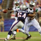 Geno Smith has been sacked 30 times and the Jets have the fourth-worst turnover differential in the league at -10. Negative players are absolute killers in the NFL, and the Jets churn those out with machine-like efficiency, much to the chagrin of a often formidable New York defense. <italics>All stats through Nov. 5</italics>