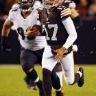 The Browns have been one of the season's nice stories, thanks to a stalwart defense and surprising quarterback play from Brian Hoyer and Jason Campbell. However, they'll need to go 5-2, at worst, to just have a chance to make the playoffs, and still have road games with the Bengals, Patriots and Jets, and a home game with the Bears. All stats through Nov. 5