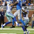 One, two or sometimes three defenders can't stop Megatron. Injury is the only thing that has so far.