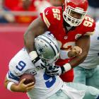 """A key piece of the NFL's best sack attack, the 6' 3"""" 346-pounder also clogs the middle against the run."""