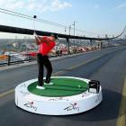 The legendary duffer made history when he hit the first golf shots from East to West on Istanbul's iconic Bosphorous Bridge linking Asia and Europe. By the way, there's a reason why Istanbul is no longer called Constantinople.