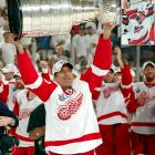 """Chelios lifted his first Stanley Cup with Montreal in 1986, and went on to hoist it twice more with Detroit (2002, 2008) after a nine-year stint with Chicago. Remarkably durable, he became the second oldest player in NHL history during the 2009-10 season, when he was called up from the AHL's Chicago Wolves to play for the Atlanta Thrashers at age 48. """"He's the best American-born player ever,"""" former Hawks teammate Eddie Olcyzk said to the <italics>Chicago Tribune</italics>."""