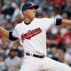 <bold>2013 Stats:</bold> 13-9, 3.30 ERA, 1.330 WHIP, 9.6 K/9 <bold>Current team:</bold> Indians <bold>Best fit:</bold> Orioles After two and a half years of struggles, Jimenez regained his elite form in the second half of 2013, in which he had a 1.82 ERA -- tops among AL starters in that category -- and struck out 10.7 batters per nine. Teams will be wary of the way in which his long-limbed delivery can break down for significant periods of time, but he still has the chance to be a star. He would instantly be the best starter on an Orioles team that has the offense to be a serious contender, but is in need of an upgrade to a rotation that ranked 27th in ERA at 4.57.